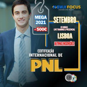 Certificação PNL - MEGA 21 - Lisboa